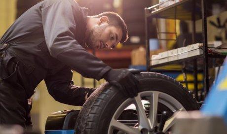 Mertins Automobile remplacement de pneus à Thiers